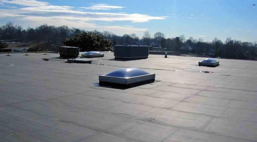 EDPM flat roof